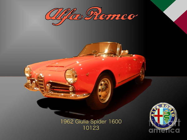 Photograph - Alfa Romeo by Laura Toth