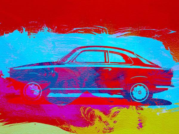 Wall Art - Painting - Alfa Romeo  Watercolor 1 by Naxart Studio