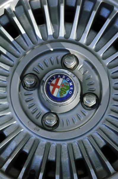 Photograph - Alfa Romeo Wheel Rim by Jill Reger