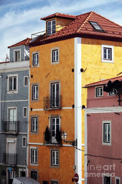 Wall Art - Photograph - Alfama Yellow by John Rizzuto