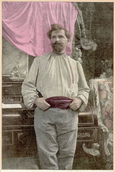Czechoslovakian Photograph - Alfons Mucha (1860-1939) by Mary Evans Picture Library
