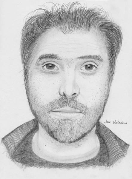Drawing - Alfonso Cuaron by M Valeriano