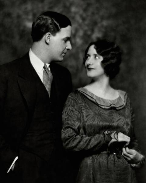 Husband Photograph - Alfred Lunt And Lynn Fontanne by Nickolas Muray