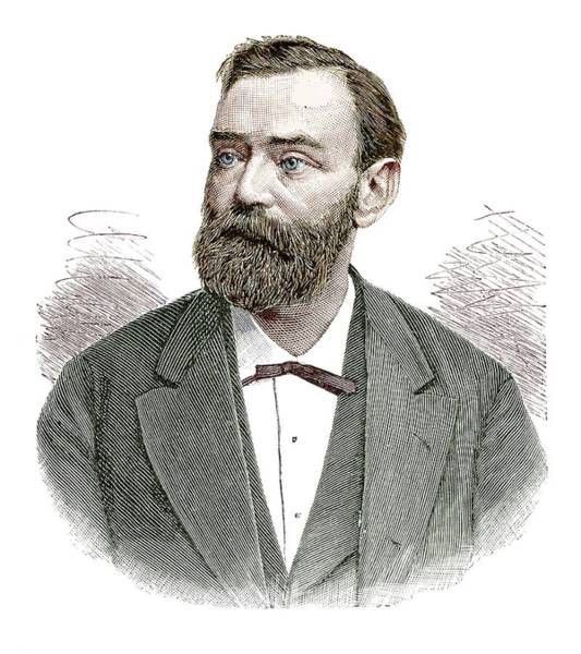 Nobel Wall Art - Photograph - Alfred Nobel by Science Photo Library