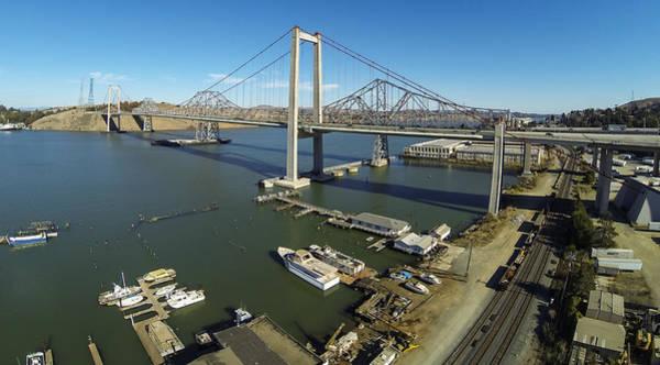 Alfred Zampa Wall Art - Photograph - Alfred Zampa Crockett Bridge by Rick DeMartile