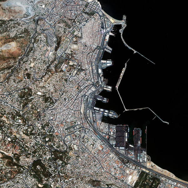 Casbah Photograph - Algiers by Geoeye/science Photo Library
