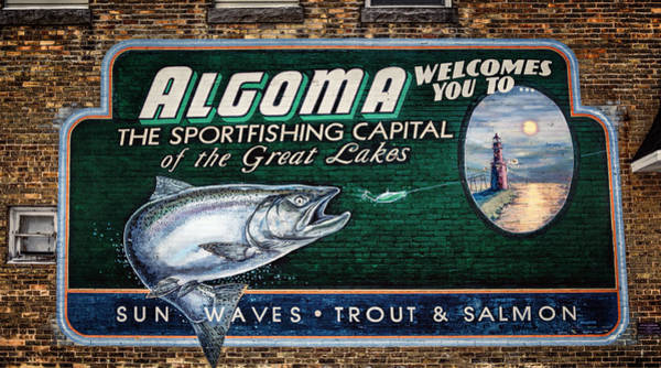 Photograph - Algoma Welcomes You by Joan Carroll