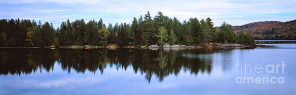 Photograph - Algonquin Park In Ontario  Lake Of Two Rivers by Les Palenik