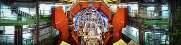 Wall Art - Photograph - Alice Detector At Cern by Cern