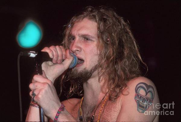Layne Staley Wall Art - Photograph - Alice In Chains by Concert Photos