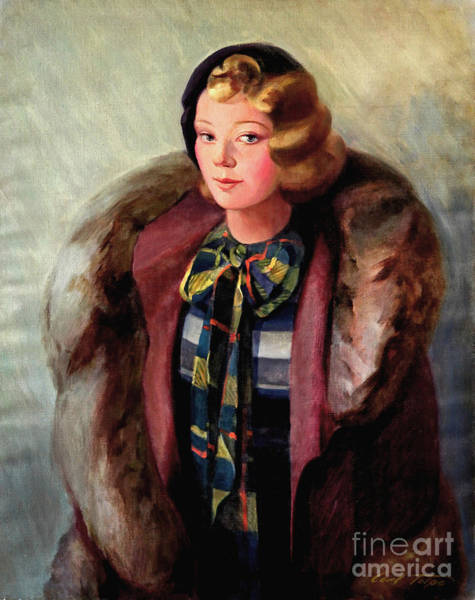Painting - Alice In Fur by Art By Tolpo Collection