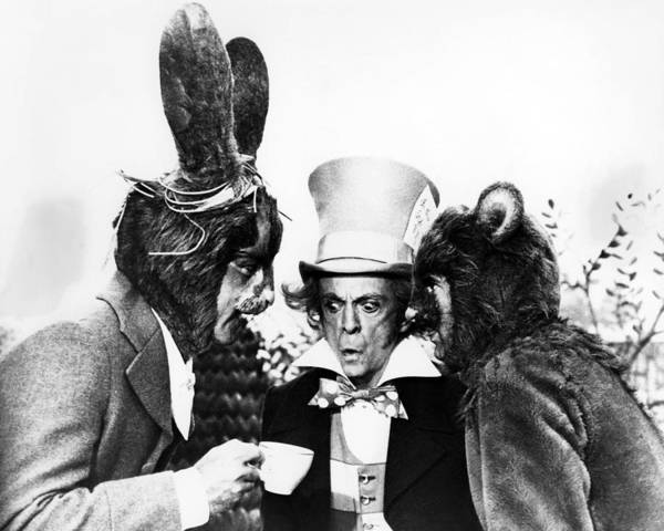 Alice In Wonderland Photograph - Alice's Adventures In Wonderland  by Silver Screen