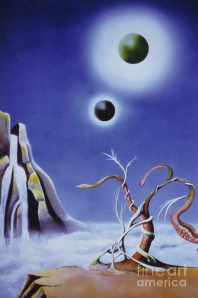 Mixed Media - Alien by David Neace