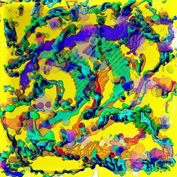 Alien Dna Art Print