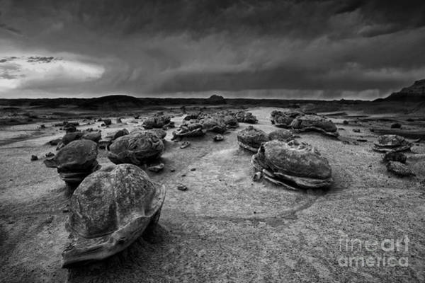 Badlands Photograph - Alien Eggs At The Bisti Badlands by Keith Kapple