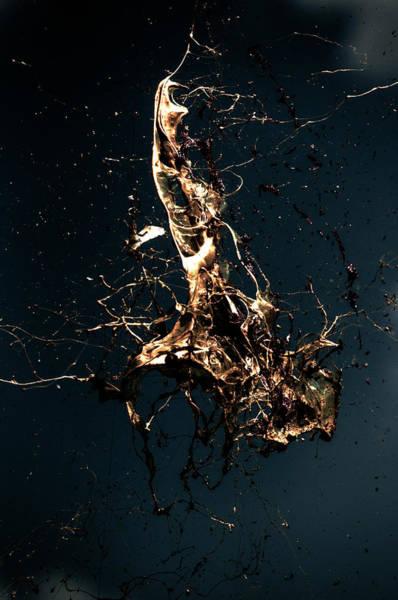 Ugliness Photograph - Alien Gold Blast by Tobi Corney