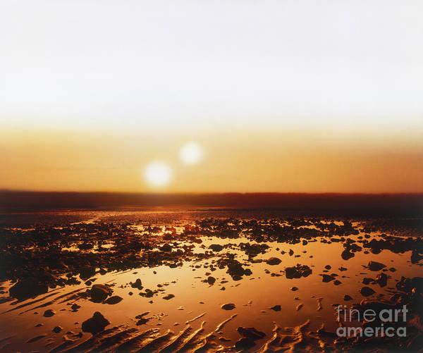 Photograph - Alien Landscape by Neil Fletcher and Dorling Kindersley