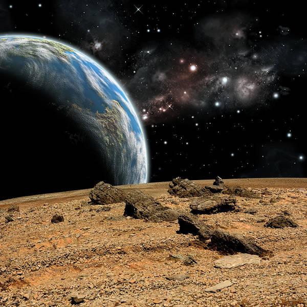 Photograph - Alien Landscape No.10  by Marc Ward