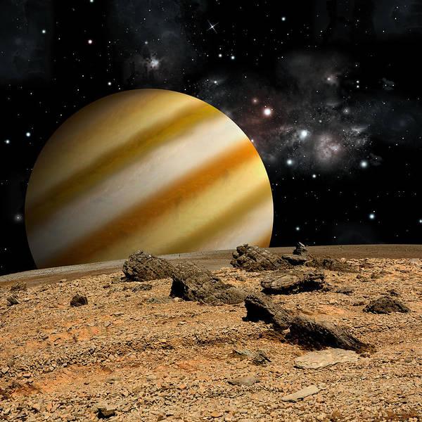 Photograph - Alien Landscape No.7  by Marc Ward