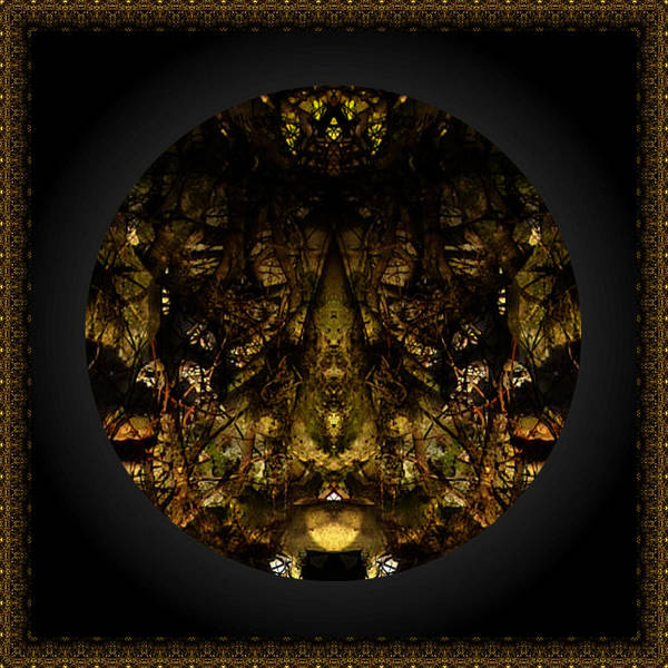 Digital Art - Alien Moth God Priest by Christophe Ennis
