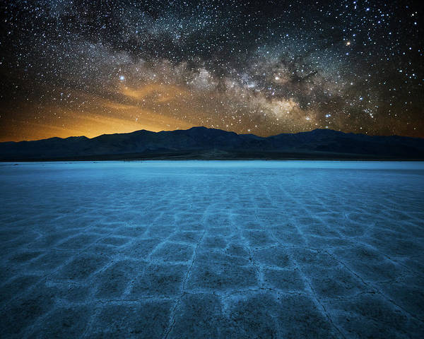 Death Valley Photograph - Alien World by John Fan