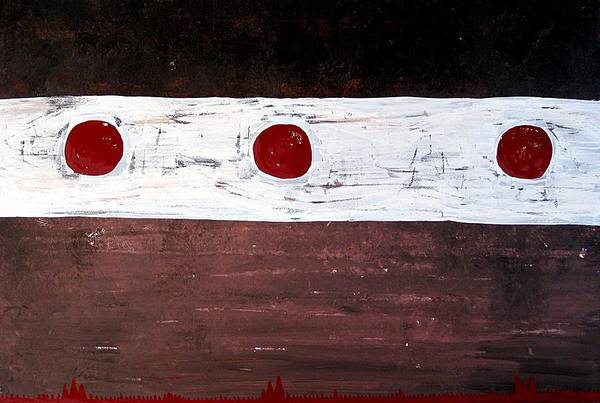 Painting - Alignment Original Painting by Sol Luckman