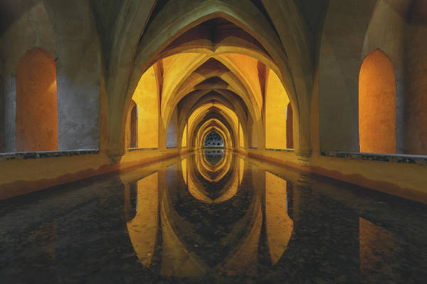 Arch Wall Art - Photograph - Aljibe by Javier Puy?