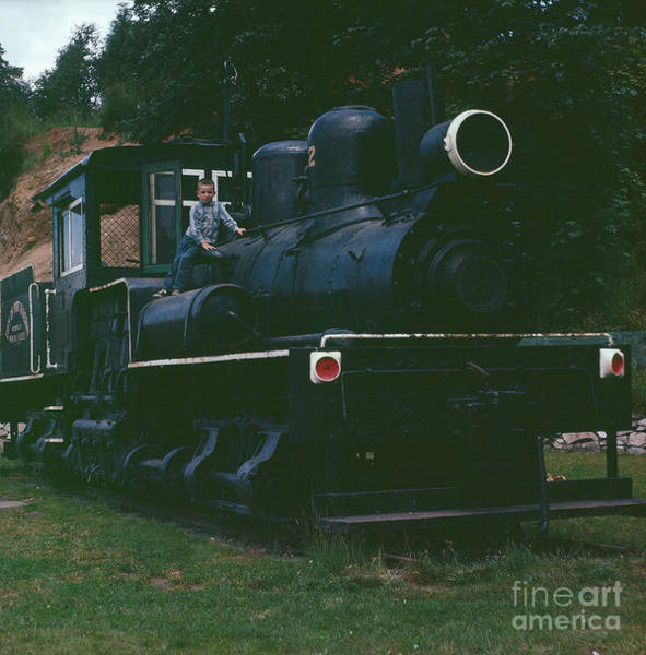 Wall Art - Photograph - All Aboard by Vintage Photography