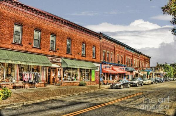 Photograph - All Along Main Street by Jim Lepard