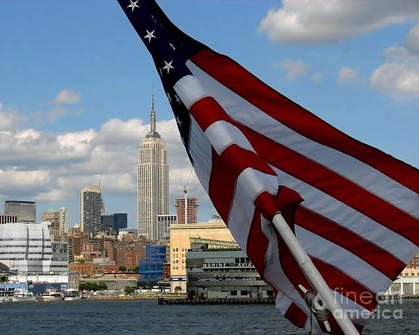 Photograph - All American City by Donna Cavanaugh