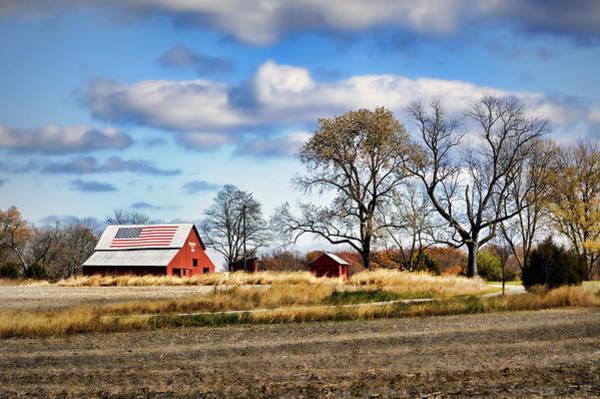 Photograph - All-american Farm by Cricket Hackmann