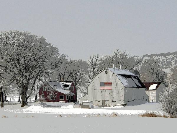Rockville Photograph - All American Farm by Jodi Pflepsen