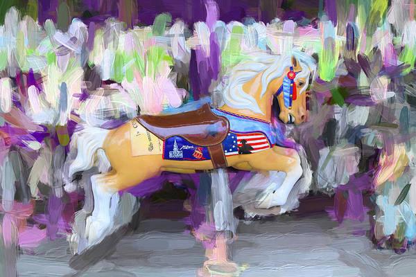 Photograph - All American Pony by Carlos Diaz