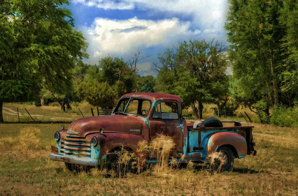 Pick Up Truck Photograph - All By Myself by Ken Smith