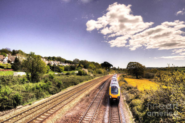 Arriva Photograph - All Change At Aller Junction  by Rob Hawkins