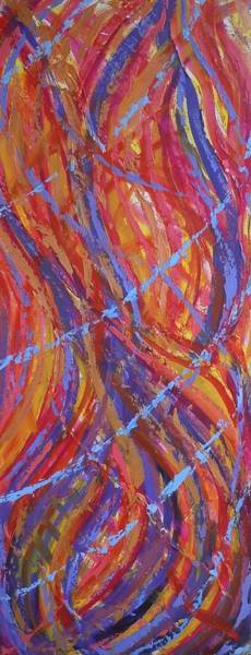 Painting - All Consuming Fire by Deborah Brown Maher