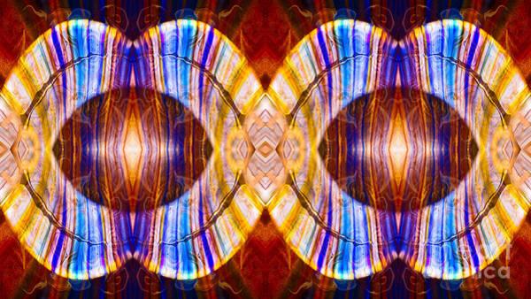 Digital Art - All Eyes On Eternity Abstract Living Artwork By Omaste Witkowski by Omaste Witkowski