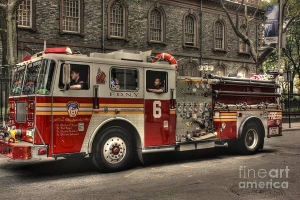 Fdny Photograph - All Gave Some - Some Gave All by David Bearden