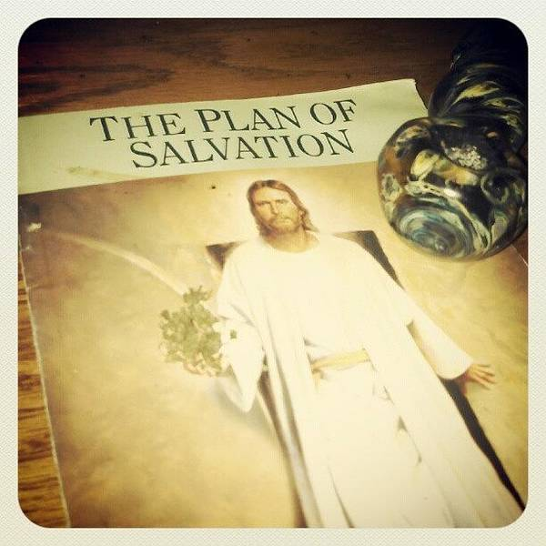 Salvation Wall Art - Photograph - All I Need Is Jesus And Weed.....and by AM Gizzle