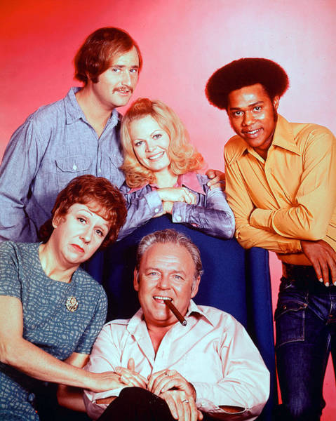 Reiner Photograph - All In The Family  by Silver Screen