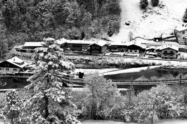 Photograph - All Lined Up In Berchtesgaden by John Rizzuto