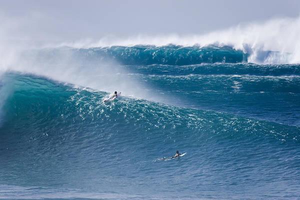 Big Waves Photograph - All Pistons Firing. by Sean Davey