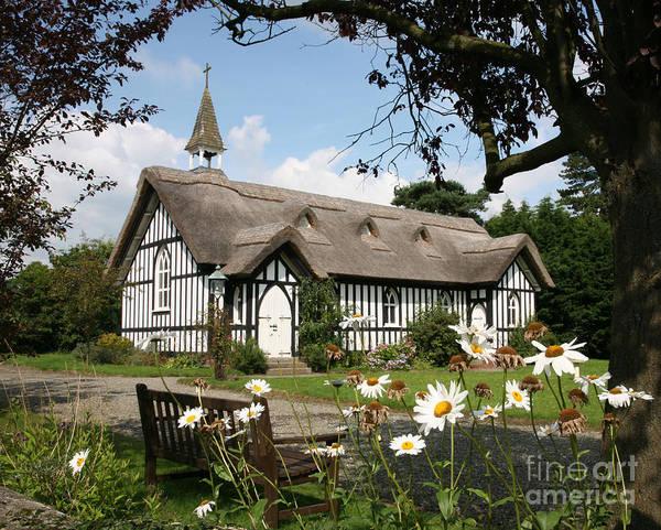 Church Stretton Photograph - All Saints Church Little Stretton Shropshire by John Keates