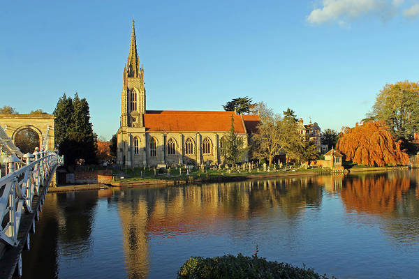 All Saints Church Marlow Art Print