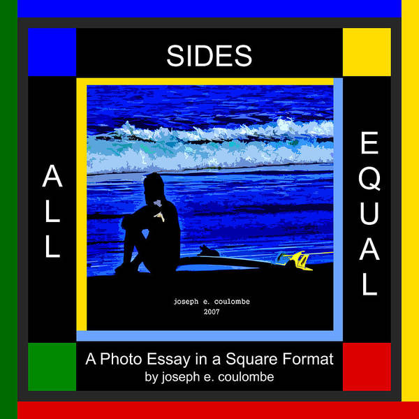 Digital Art - All Sides Equal - Square by Joseph Coulombe