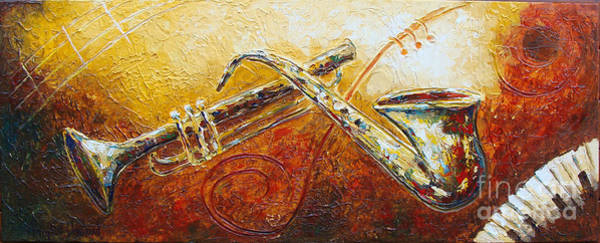Painting - All That Jazz by Phyllis Howard