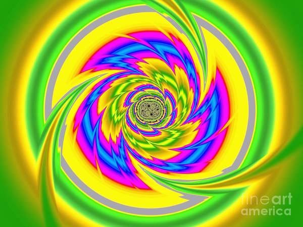 Digital Art - All The Colours by Vix Edwards