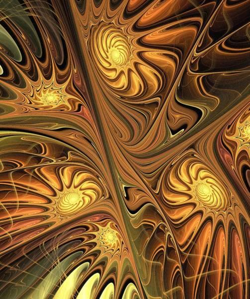 Digital Art - All The Gold by Anastasiya Malakhova
