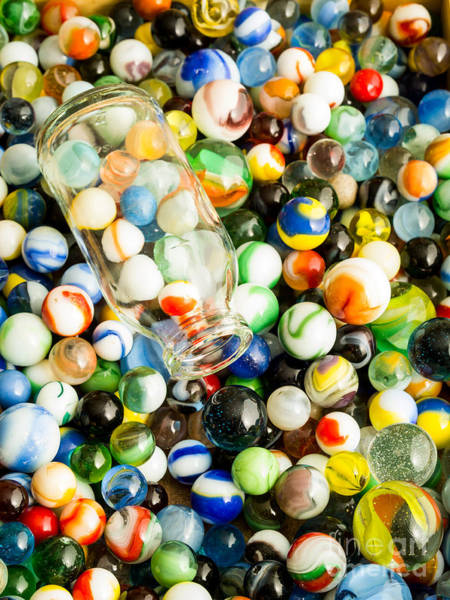 Photograph - All The Marbles by Edward Fielding