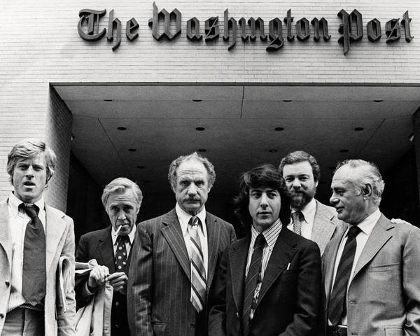 Wall Art - Photograph - All The President's Men  by Silver Screen